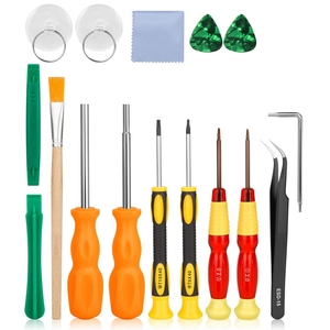 Triwing Screwdriver,17 In 1 Triwing Screwdriver Game Bit Repair Tool Kit Full Security For Switch Joycon Wii Nes Snes Ds Lite Gb(China)
