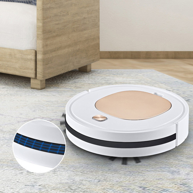Smart Robot Vacuum Cleaner Household Multifunctional 3-in-1 Cleaning Appliances Wireless Automatic Vacuum Cleaner 3
