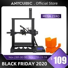 ANYCUBIC Mega Zero DIY 3D Printer 220X 220X250 desktop 3d printing extruder Metal frame Impresora High Precision  impressora