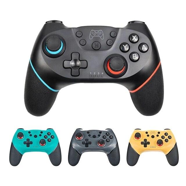 Gamepad mando inalámbrico Bluetooth para Nintendo Switch Pro NS, controlador de juego para consola Switch con mango de 6 ejes