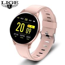 Kobiety mężczyźni inteligentny elektroniczny zegarek luksusowe ciśnienie krwi cyfrowe zegarki moda kalorii sportowy zegarek tryb DND dla androida IOS tanie tanio BANGWEI CN (pochodzenie) 3Bar STOP Sprzączka Moda casual Cyfrowy Papier 38mm Silikon stoper Odporna na wstrząsy Wyświetlacz LED
