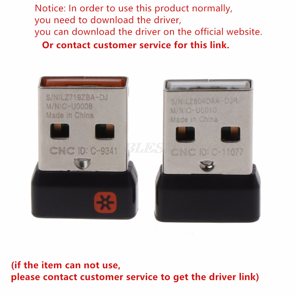 Wireless Dongle Receiver Unifying USB Adapter For Logitech Mouse Keyboard Connect 6 Device For MX M905 M950 M505 M510 M525 Etc