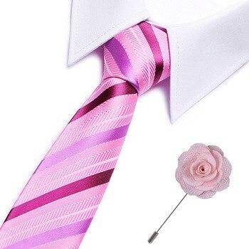 Mens Ties Striped Slim Tie Luxury Bowtie Wedding Business Paisley Corbatas Party Gravatas Neck Tie Men Fashion Neckties bow ties self tie men s fashion gold paisley wedding party bowtie 100
