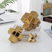 Креативные Квадратные блоки в скандинавском стиле керамические