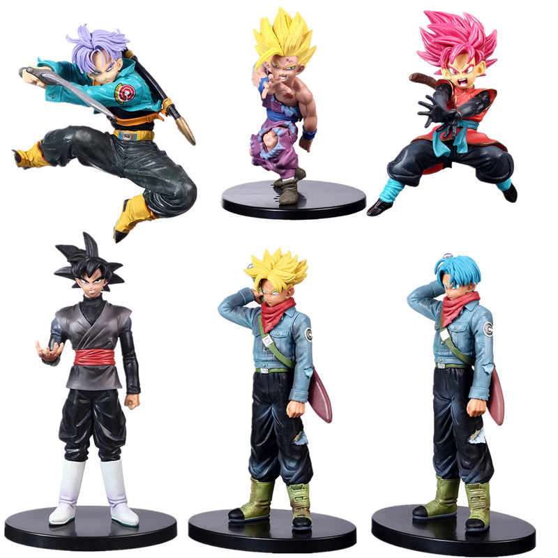 Super Saiyan fils Goku végétto végéta troncs PVC figurines Dragon Ball Z Gohan Bulma Collection modèle poupées jouets Figurine