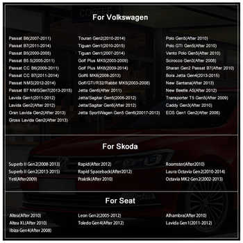 "Junsun 2 din 7 นิ้ว """" """" """" """" """" """" """" """" """" DVD วิทยุมัลติมีเดีย autoradio สำหรับ VW Golf 5 Passat b6 ที่นั่ง leon Tiguan polo Skoda Octavia"
