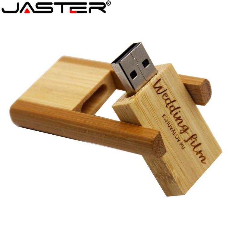 JASTER 3 Colour Wooden Model 64GB Flash Drive 4GB 8GB 16GB 32GB Pendrive USB 2.0 Usb Stick