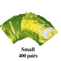 400 pairs Green