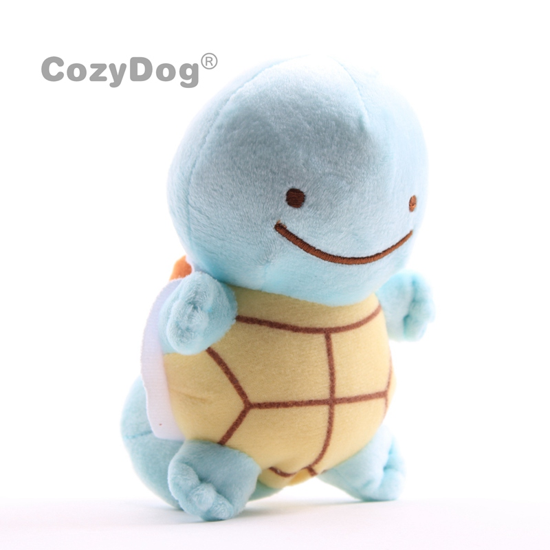 15cm Anime Squirtle Plush Toys Doll Peluche Cute Pikachu Charmander Mewtwo Eevee Series Toys Women Kids Birthday Gift