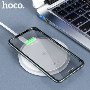 HOCO 15W Fast Wireless Charger qi Wireless Charging Pad For iPhone 12 11 Pro X Xs Max Xiaomi mi 10 Samsung S10 S20 Note 20