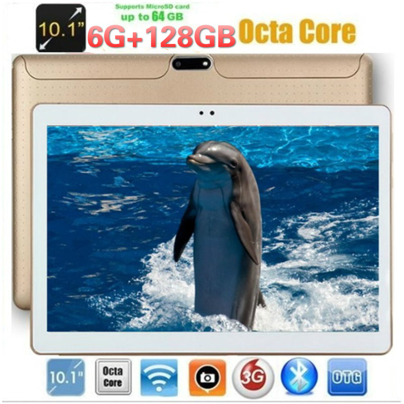 10 Inch Tablet Pc 10 Core RAM 6GB ROM 128GB 1280*800 IPS 4G Lte Phone Call Tab Wifi GPS Bluetooth Android Tablet  Kids Tablet