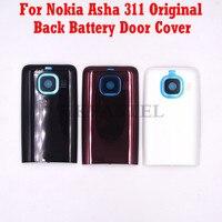 Para Nokia Asha 311 RM-714  teléfono móvil Original  batería trasera  carcasa  funda  envío gratis