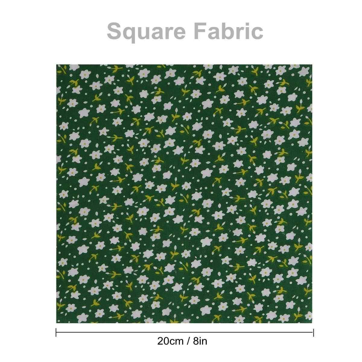 50 pz/lotto Morbido Cotone Tinta Unita Tessuto Patchwork di Stoffa Fatti A Mano FAI DA TE Quilting Cucito Artigianato Cuscino Sacchetto di Materiale Tessile 20x20 cm