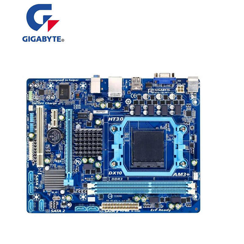 のためのオリジナルマザーボードギガバイト GA-78LMT-S2 ソケット AM3 +/AM3 DDR3 16 ギガバイト 78LMT-S2 デスクトップ motherborad 送料無料
