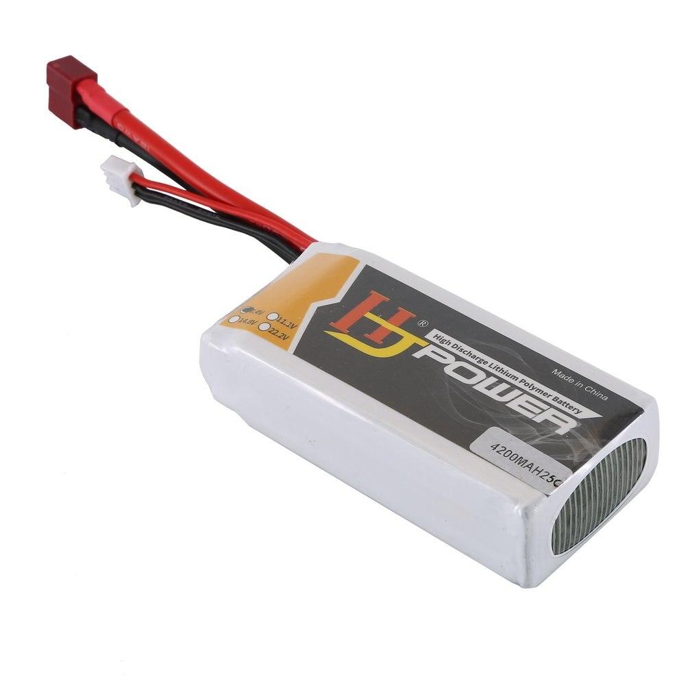 4200 mah 7.4 v 25c t plug lipo bateria para wltoys 12428 12429 modelos de peças sobresselentes do carro substituir baterias recarregáveis