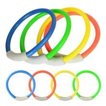 1 шт. для бассейна, подводная форма для дайвинга, Детские Кольца для дайвинга на лето, пляжные игрушки для водных игр, аксессуары для бассейна, случайный цвет