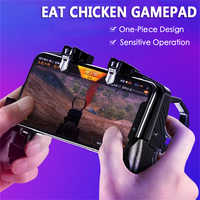 new K21 PUBG eat chicken artifacts trigger metal keys four-finger linkage game handle peace elite game artifacts