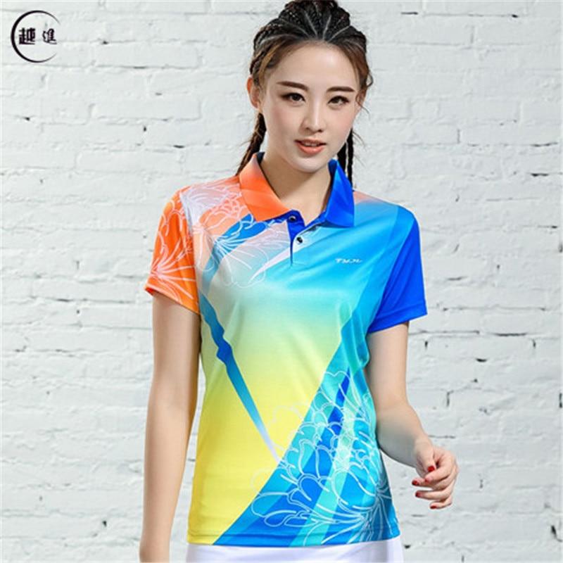 V-образная горловина, короткий рукав, форма для настольного тенниса, один топ для мужчин и женщин, летняя одежда для учеников средней школы, студентов средней школы - Цвет: B2621female1