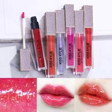 1pcs Star Glass Shimmer Moisturizing Lip Gloss Long Lasting Sexy Big Lips Lips Plumper Oil Long Lasting Makeup Lipgloss TSLM1(China)