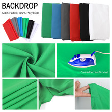 Photo Photography Backdrop Collapsible Polyester Cotton Green Screen Chromakey Background Cloth For Photo Studio Video