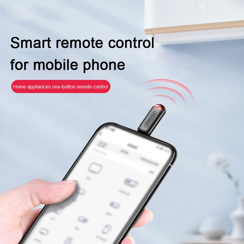 Universal TV Air Conditioning Infrared Transmitter Mobile Phone Receive Remote Control For Samsung Xiaomi OnePlus Android Phone