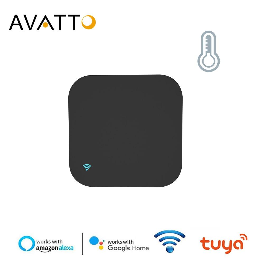 Датчик температуры и влажности uya, Wi-Fi ИК пульт дистанционного управления для AC/TV, управление приложением Smart Life, работа с Amz Alexa Google Home