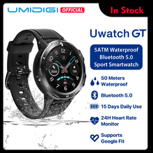 UMIDIGI Uwatch GT Smart Watch 5ATM Waterproof All-Day Heart Rate Activity Tracki