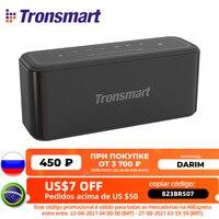 Upgrade 60W Tronsmart Mega Pro Bluetooth Lautsprecher IPX5 Wasserdichte Soundbar Heimkino Spalte NFC Stimme Assistent EQ Control