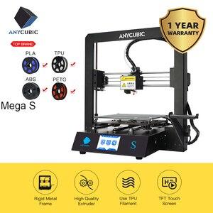Image 2 - ANYCUBIC 3D 프린터 I3 메가 S 풀 메탈 프레임 산업용 그레이드 고정밀 플러스 사이즈 저렴한 노즐 3D 프린터 PLA 필라멘트