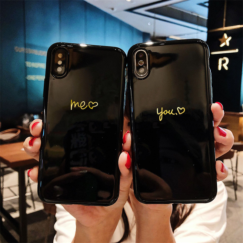 Soft TPU Silicone Couples Phone Case For <font><b>Samsung</b></font> Galaxy J3 J5 J7 Prime A5 2017 <font><b>2016</b></font> J4 J6 J8 A6 Plus A5 A7 A8 <font><b>A9</b></font> 2018 Back Cover image