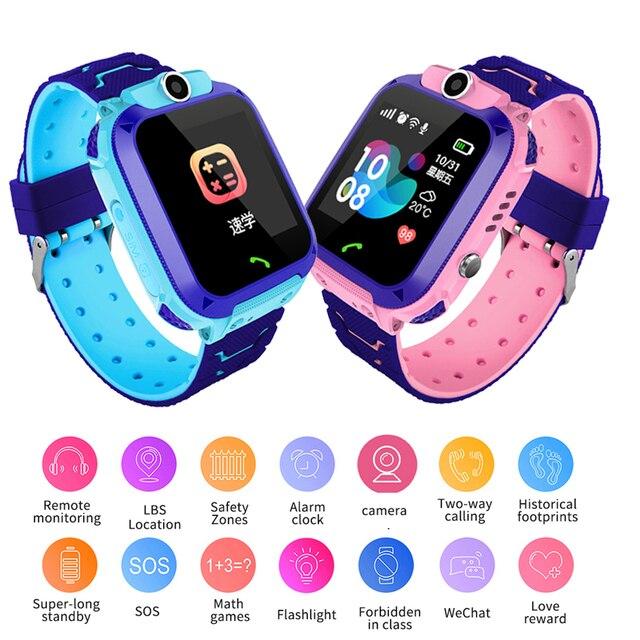 חכם שעון ליגע ילדים פונקציה רב דיגיטלי שעון מעורר שעון תינוק שעון עם מרחוק ניטור יום הולדת מתנה עבור ילדים