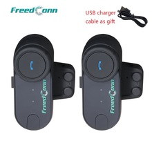 FreedConn T-COM OS Motorrad Intercom Bluetooth Helm Headset FM 2 Fahrer BT Sprech FM Ridao Moto Intercomunicador