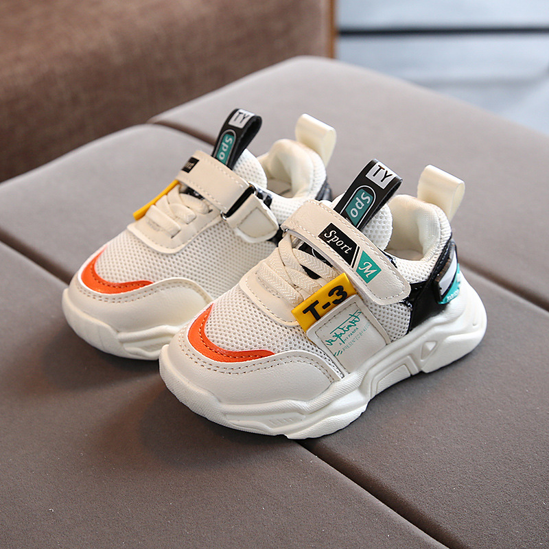 Fashion Leisure Cute Casual Shoes Children Sports Running High Quality Baby Shoes Tennis Cool Leisure Girls Boys Sneakers Kids