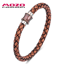 2020 Retro Women Charm Bracelets Brown Genuine Leather Rope Braided Bangle Classic High Quality Men Jewelry шлем для скейтборда pro tec classic matte brown retro