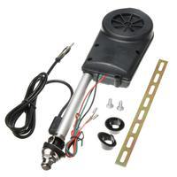 1set Auto Car Aerial Antena Electric Radio Antenna Automatic Booster SUV Electric Power 12V FM/AM Retractable Antenna Tool