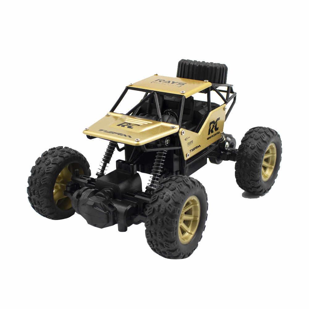 Serin moda 1/18 2.4GHZ 4WD radyo uzaktan kumanda kapalı yol RC araba ATV Buggy tırmanma kamyon bebek çocuk Boys kız oyuncak komik hediye