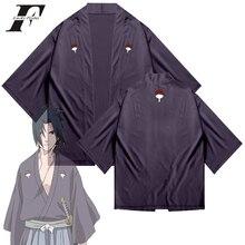 Akatsuki Coat Cardigan Kimono Cosplay Costume Anime Tops Uchiha Sasuke Unisex Women/men