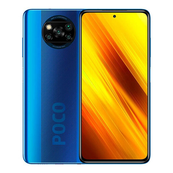 Перейти на Алиэкспресс и купить Xiaomi Poco X3 NFC 6 ГБ/128 ГБ синий (кобальтовый синий) с двумя SIM-картами