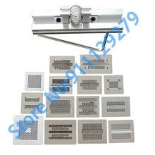 15 pçs/lote Conjunto Completo Kit BGA Stencil Reballing Dedicar Para DDR DDR2 DDR2-2 DDR2-3 DDR3-2 DDR3-3 DDR5 DDR7