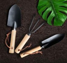 Małe japońskie czarne łopaty dwuczęściowe narzędzia ogrodnicze toczenie gleby sadzenia łopatki grabki sadzenia kwiatów gospodarstwa domowego tanie tanio CN (pochodzenie) other other Black RSHS