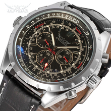 JARAGAR Top Luxury Brand Men Watch Mens Fashion Mechanical