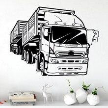Wand Aufkleber Zauberstab Aufkleber Lkw Vinyl Racing Auto Kunst Wandbild Haus Wohnzimmer Garage Innen Hause Erhalten Poster Dekor Aufkleber DW10194