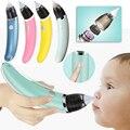 Детский Назальный аспиратор, Электрический Очиститель носа для новорожденных, очиститель на присосках, оборудование для носа, безопасный г...