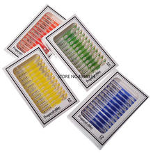 4 бокса/упаковка/лот микроскоп пластиковые слайды, биологический образец слайды безопасны для детей
