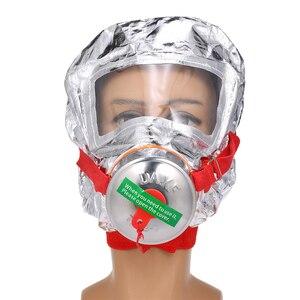 Image 2 - Fire Eacape Gezichtsmasker Zelfreddingstoestellen Respirator Gas Masker Rook Beschermende Gezicht Cover Persoonlijke Vluchtweg Kap