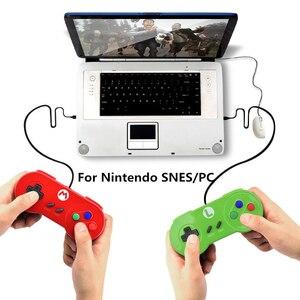 Image 2 - RETROMAX USB Bộ Điều Khiển Chơi Game Joystick Chơi Game Bộ Điều Khiển Cho Máy Nintendo SNES Chơi Game/Windows7/8/10/MAC Máy Tính điều Khiển Joystick