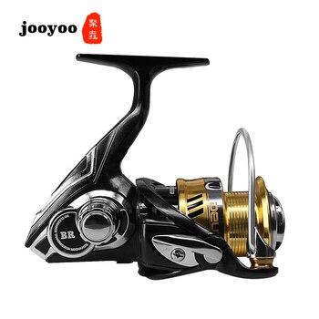 Metal Spool Spinning 2500 3000 Series 7.1:1 Fishing Reel 5+1BB Wheel Gear Ratio Knob Handle Right Left Hand Changeable jooyoo