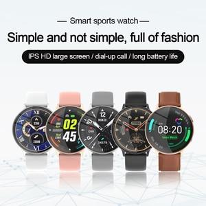 Image 2 - MISIRUN C6 Đồng Hồ Thông Minh Dành Cho Nữ Gọi Cảm Ứng Đầy Đủ IP68 Chống Nước Nhịp Tim Thời Trang Thể Thao Nam Đồng Hồ Thông Minh Smartwatch Cho IOS Android