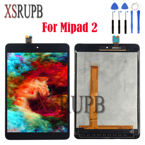 Для Xiaomi Mi Pad 2 Mipad 2 7,9 дюймов черный Новый ЖК-дисплей Матрица сенсорный экран дигитайзер сборка планшет ПК Замена