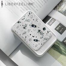 Liberfeel – batterie externe portable de type c, 10000 mah, rose, pour Android et ios, accessoire de téléphone